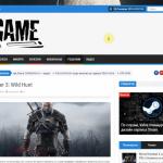 Автонаполняемый игровой портал (Премиум), для заработка на Google Adsense и РСЯ