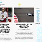 Автонаполняемый сайт на тему спорта, для заработка на Google Adsense и РСЯ