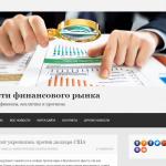 Автонаполняемый сайт новости финансового рынка, для заработка на Google Adsense и РСЯ