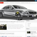 Автонаполняемый сайт тюнинг автомобилей, для заработка на Google Adsense и РСЯ
