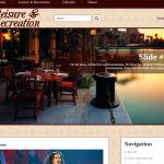 Автонаполняемый англоязычный сайт на тему отдыха, для заработка на Google Adsense