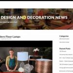 Купить англоязычный сайт декора и дизайна под ключ, для заработка на Google Adsense