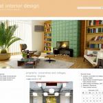 Купить англоязычный сайт интерьера и дизайна под ключ, для заработка на Google Adsense