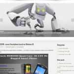 Автонаполняемый англоязычный сайт новости технологий, для заработка на Google Adsense