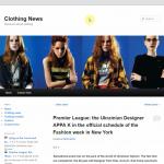 Купить англоязычный сайт одежды под ключ, для заработка на Google Adsense
