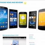 Купить англоязычный сайт о смартфонах под ключ, для заработка на Google Adsense