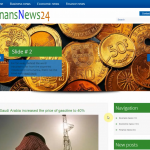 Автонаполняемый англоязычный сайт о финансах, для заработка на Google Adsense