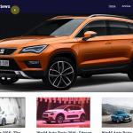 Автонаполняемый англоязычный сайт New Cars Reviews, для заработка на Google Adsense