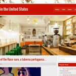 Автонаполняемый англоязычный сайт Cafes in the United States, для заработка с Google Adsense