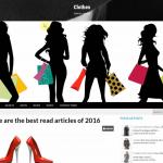 Автонаполняемый англозычный сайт Clothes, для заработка с Google Adsense