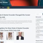 Автонаполняемый англоязычный сайт Footwear News, для заработка с Google Adsense