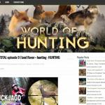 Автонаполняемый англоязычный сайт Hunting, для заработка с Google Adsense