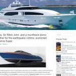 Автонаполняемый англоязычный сайт Yachts, для заработка с Google Adsense